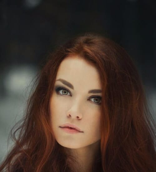 icredibly pretty auburn hair color