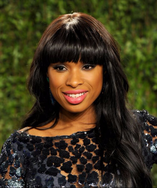 jennifer hudson haircuts for round faces