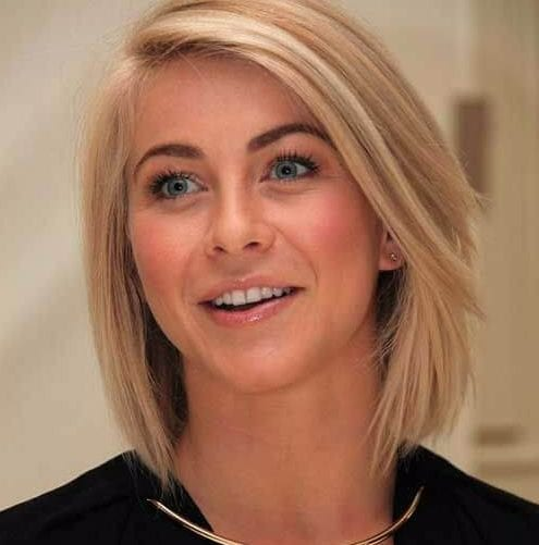 julianne hough haircuts for round faces