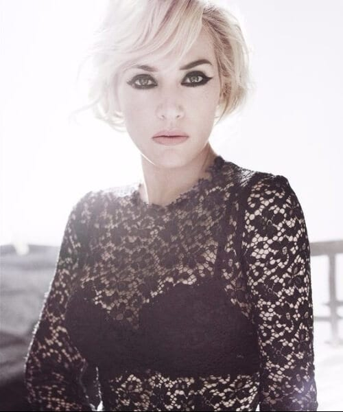 kate winslet short blonde hair