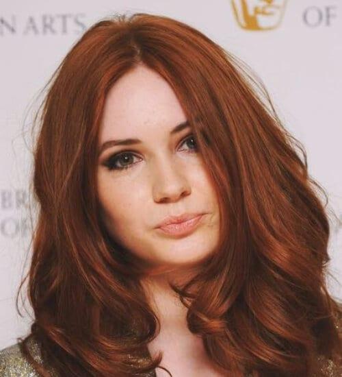 lighter auburn hair color
