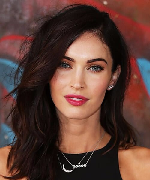 megan fox shag haircut