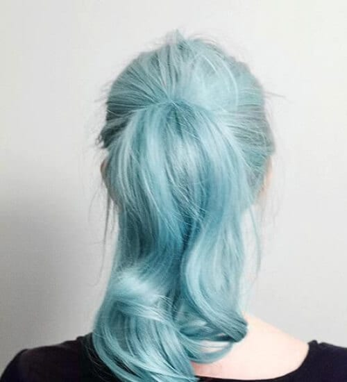 mermaid blue ombre hair