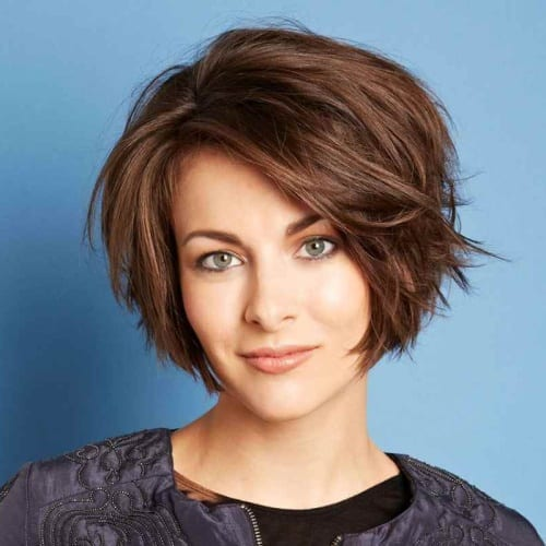 Bob Hairstyle for Heart Shaped Face