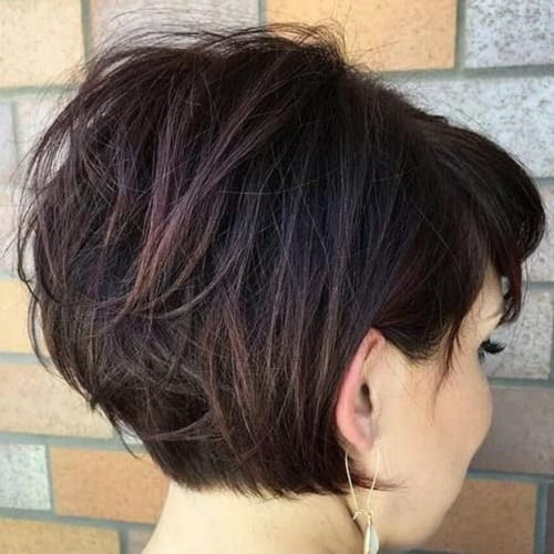 Short Stacked Bob Haircuts for Thick Hair