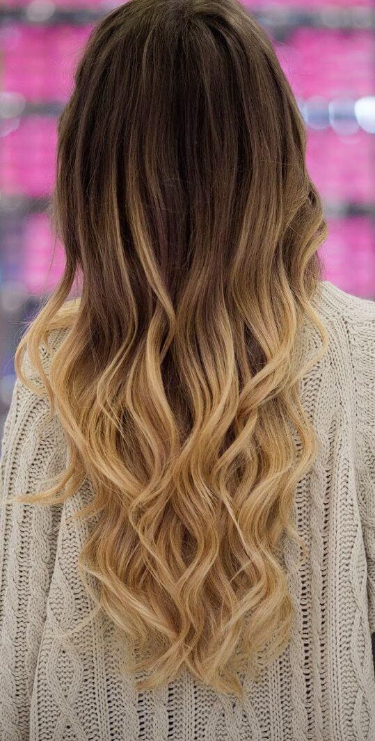 bronde ombre hair