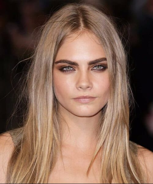 cara delevigne blonde hair