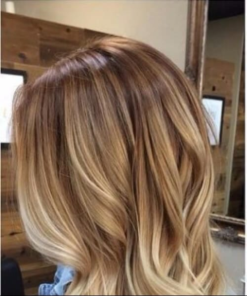 chai cream blonde hair