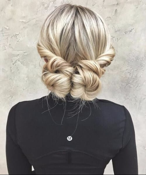 date night two buns long hairstyles
