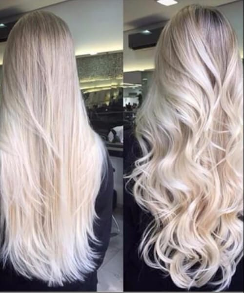 ice cold blonde hair