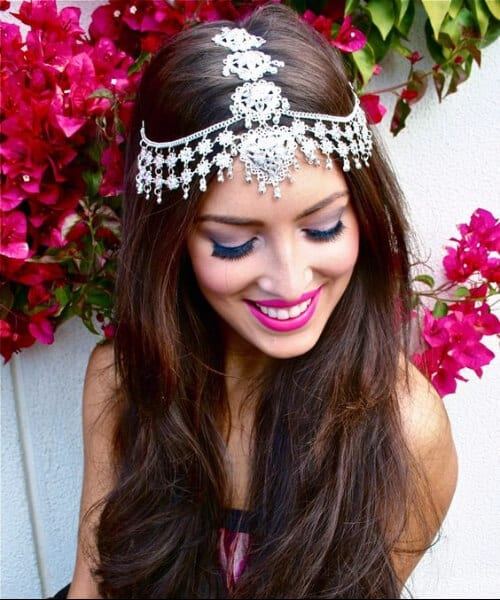 indian inspiration long hairstyles