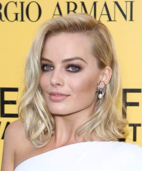 margot robbie short hairstyles