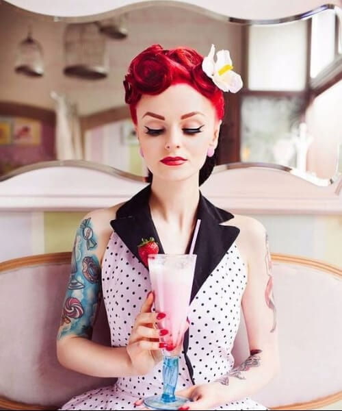 perfection pin up hairstyles