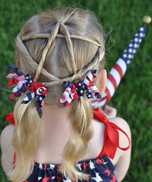 4th of july little girl hairstyles