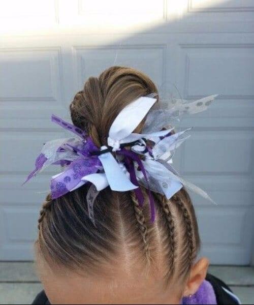 Gymnastics little girl hairstyles
