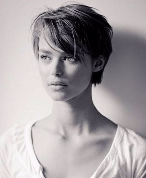 bed head long pixie cut