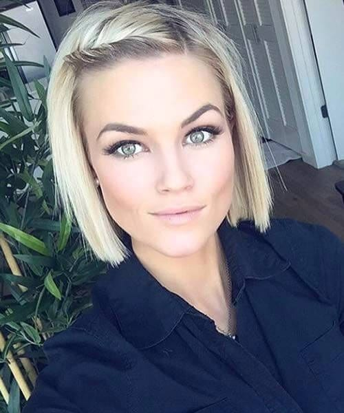 blunt bob hairstyles for thin hair