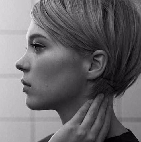 chic long pixie cut