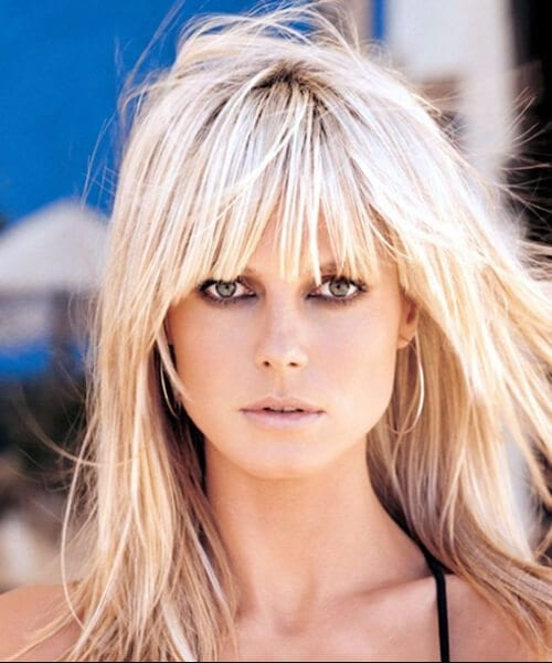 heidi klum hairstyles for women over 40
