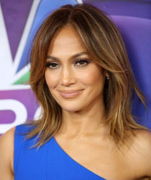 jennifer lopez shoulder length bob