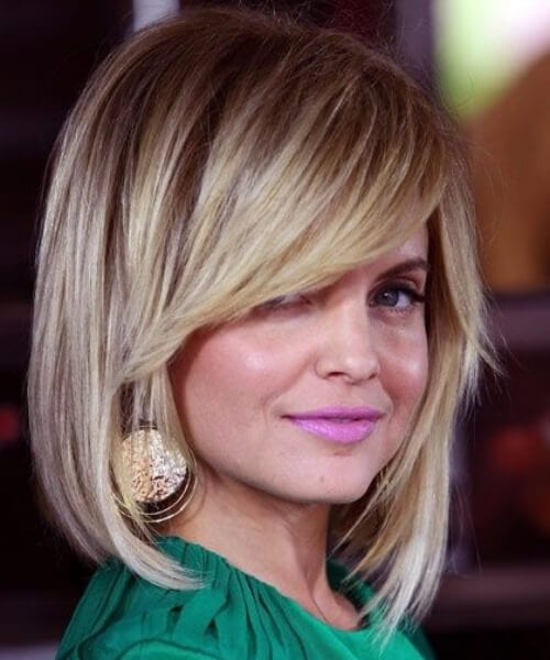 mena suvari shoulder length bob