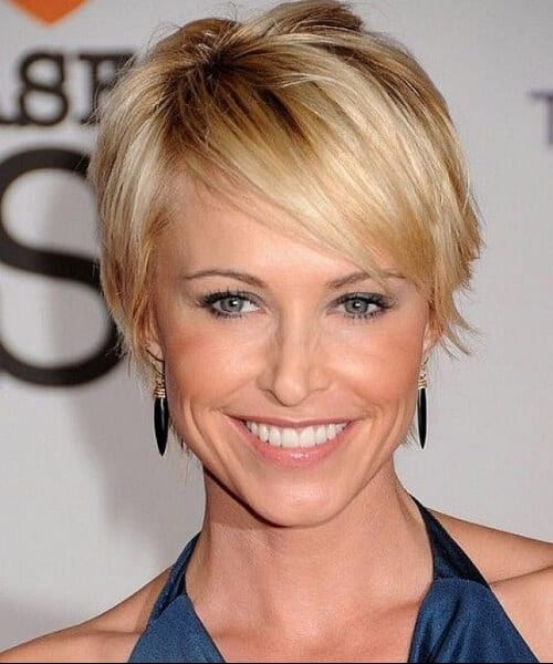shaggy sandy pixie hairstyles for thin hair