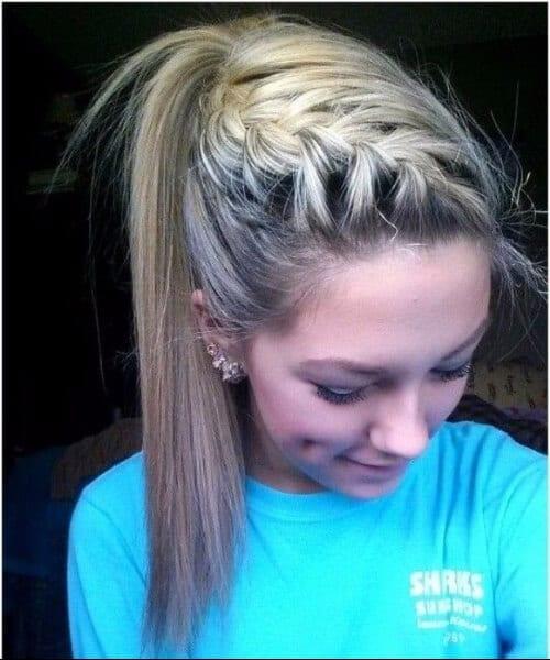 45 impressive french braid hairstyles my new hairstyles side french braid hairstyles ccuart Images