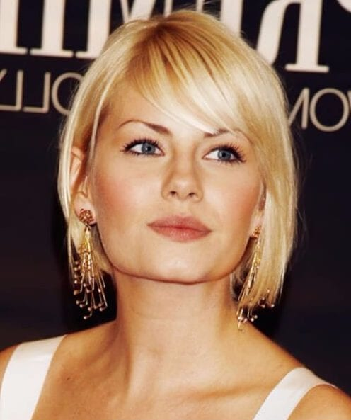 trendy sun-kissed bangs hairstyles for thin hair