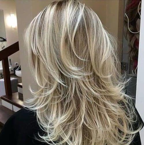 De la década de 2000 los cortes de pelo en capas