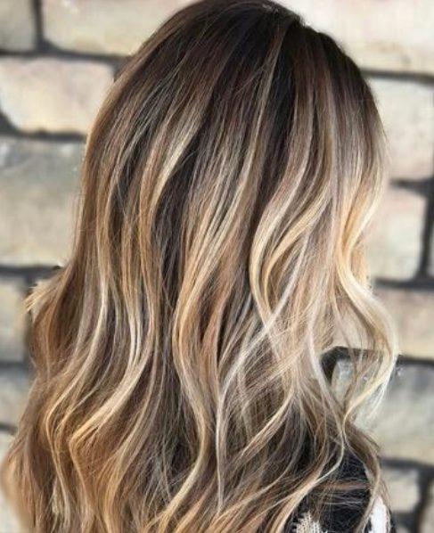 bronde balayage hair color