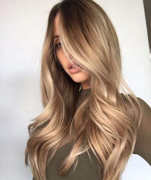 chai balayage hair color