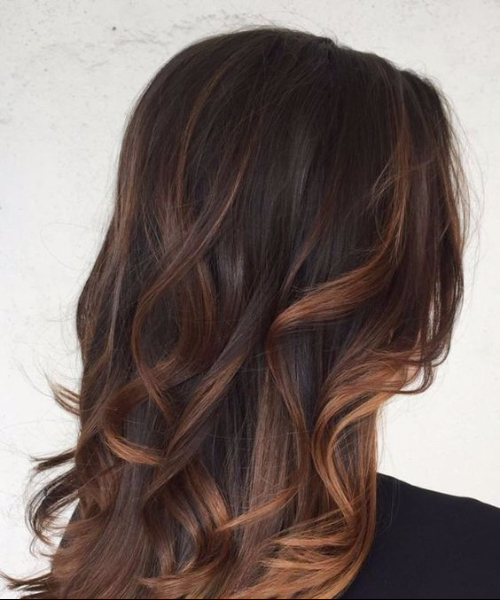 50 natural balayage hair color ideas my new hairstyles for Balayage braun caramel