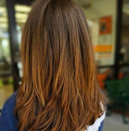 entrecortado cortes de pelo en capas