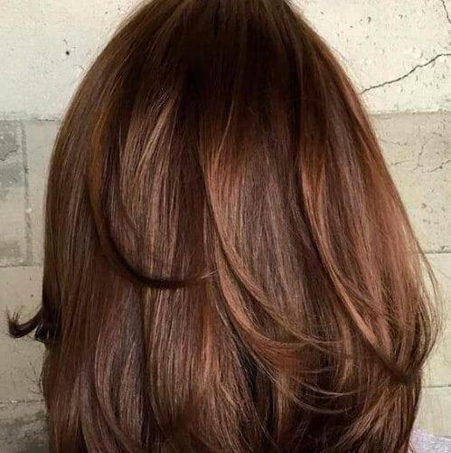 invertida rizos cortes de pelo en capas