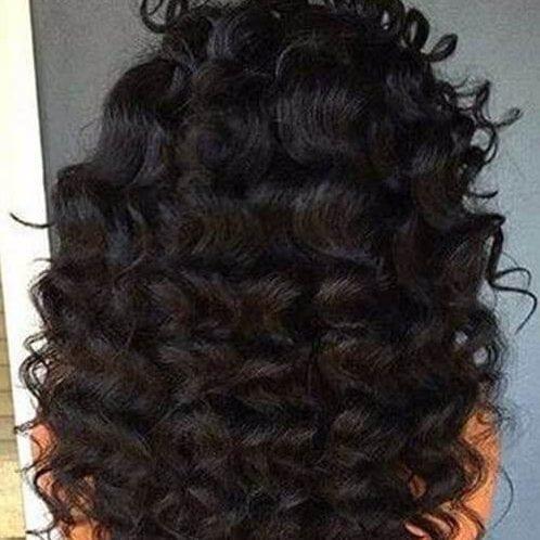 jumbo curls weave hairstyles
