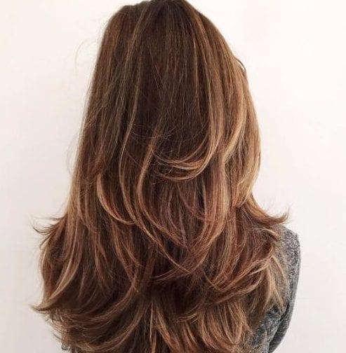 los cortes de pelo en capas para el cabello grueso