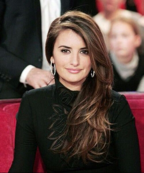 penelope cruz layered haircuts