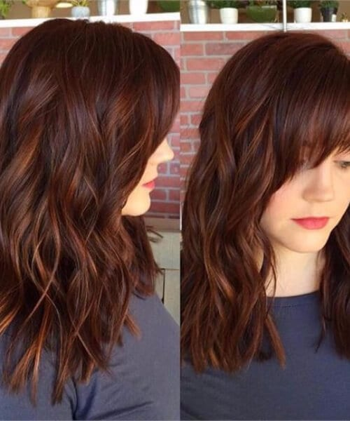 Spicy Auburn fall hair colors
