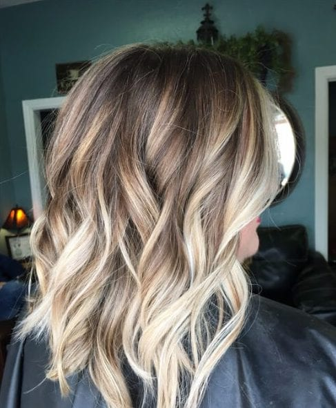 45 bombshell blonde balayage ideas my new hairstyles - Balayage blond blanc ...