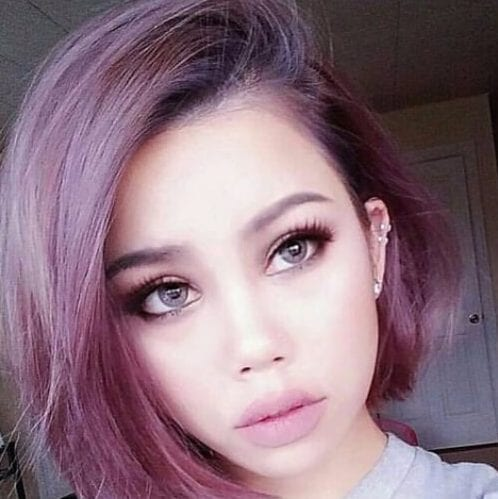 opera mauve plum hair color