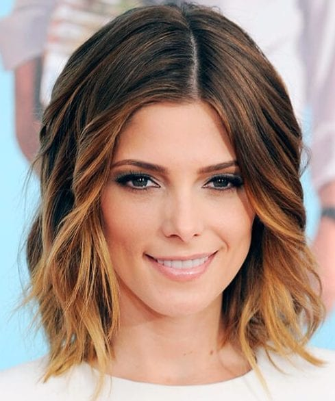 ashley greene short hair ombre