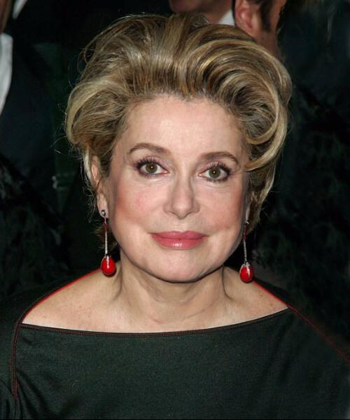 catherine deneuve hairstyles for women over 60