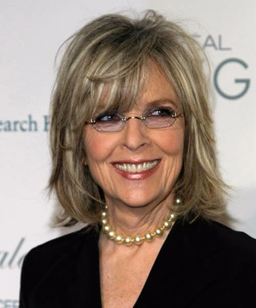 diane keaton hairstyles for women over 60