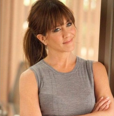 jennifer aniston long hair with bangs