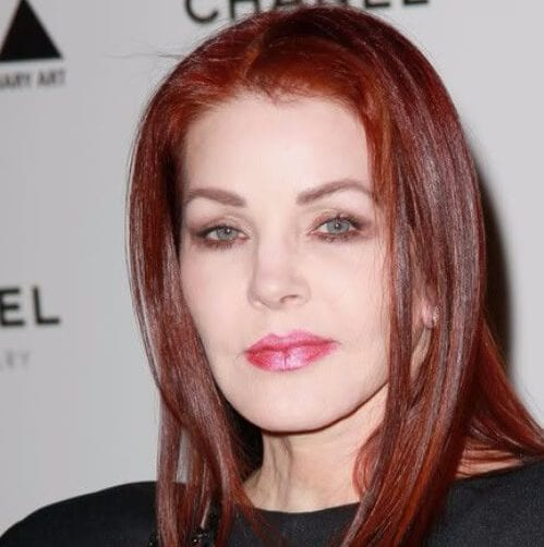 priscilla presley hairstyles for women over 60