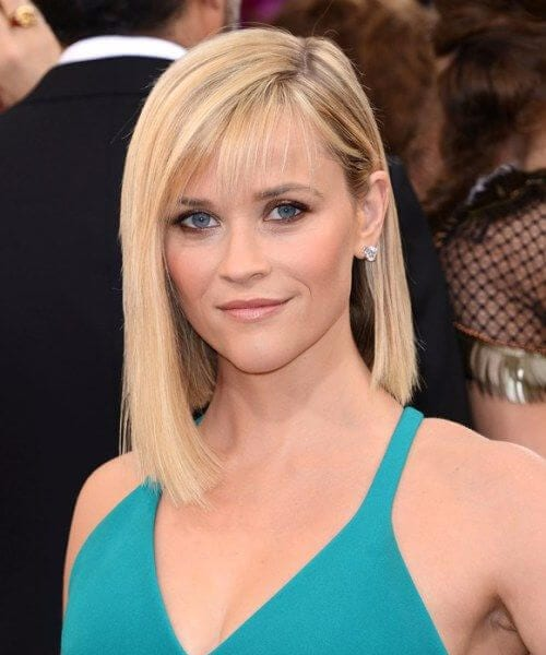 reese witherspoon asymmetrical bob
