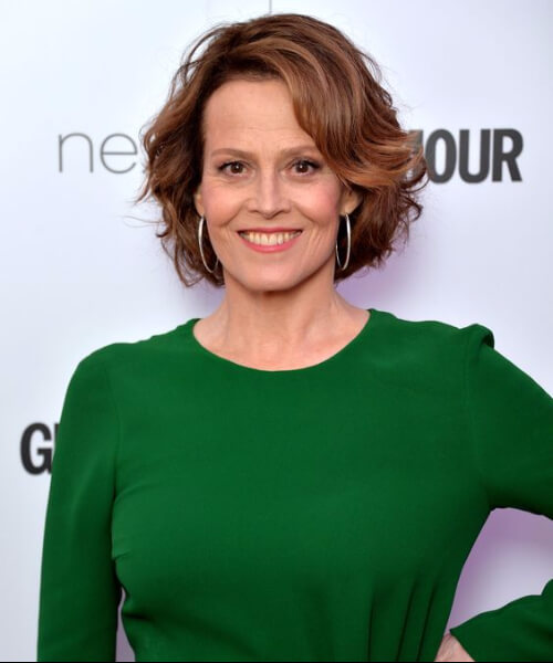 sigourney weaver hairstyles for women over 60