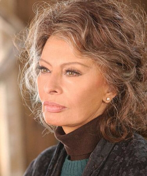 sophia loren hairstyles for women over 60