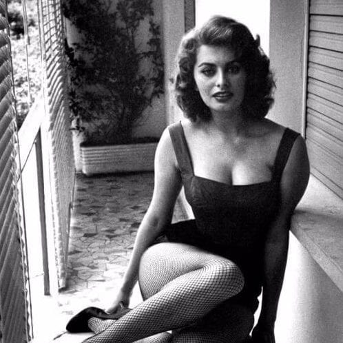 sophia loren short hairstyles for thick hair