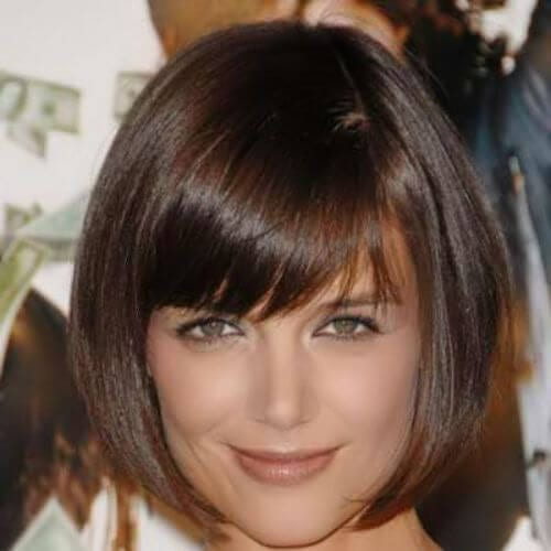 katie holmes inverted bob